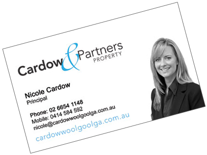 Coffs cards business card design print coffs coast and australia cardow partners property woolgoolga example contact coffs cards based in australia reheart Choice Image